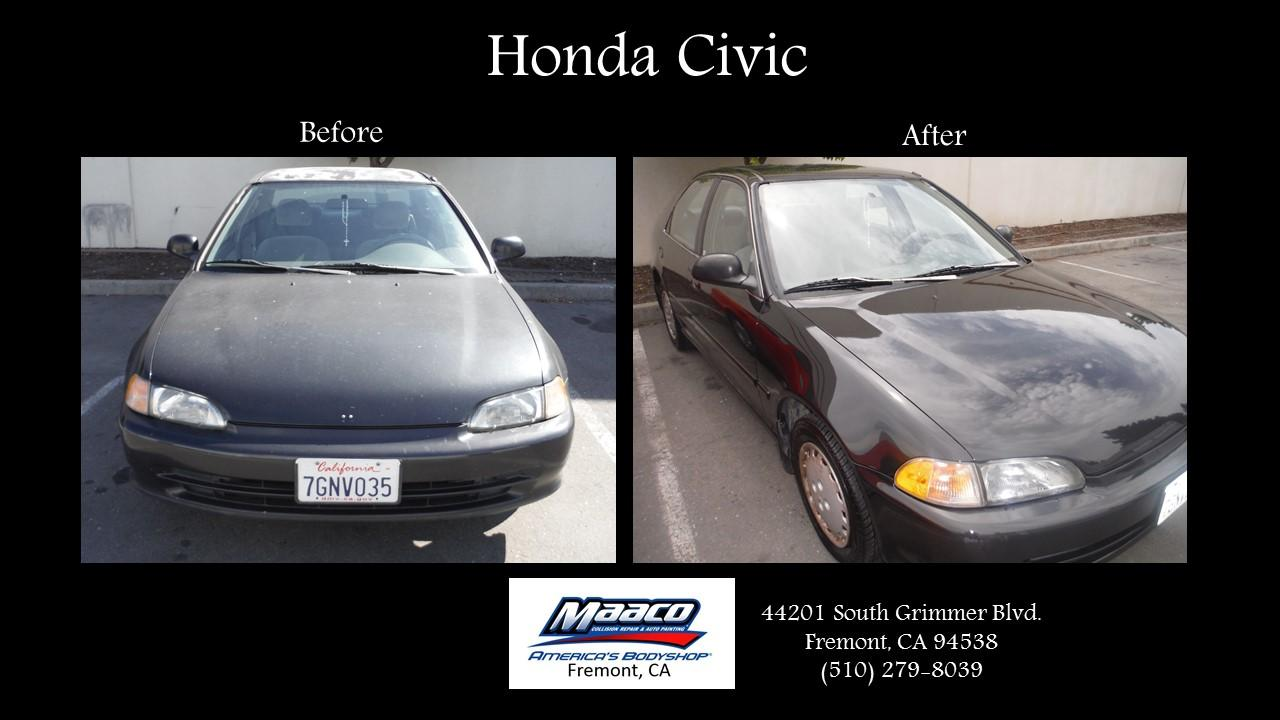 Maaco collision repair auto painting fremont california for Honda fremont auto mall
