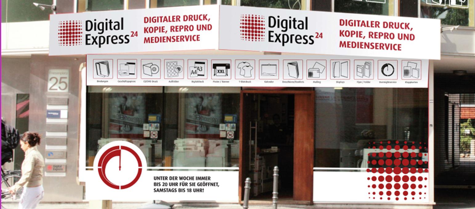 Foto de Express Druckerei+Copyshop Nr. 1 in Köln: Digital Express 24