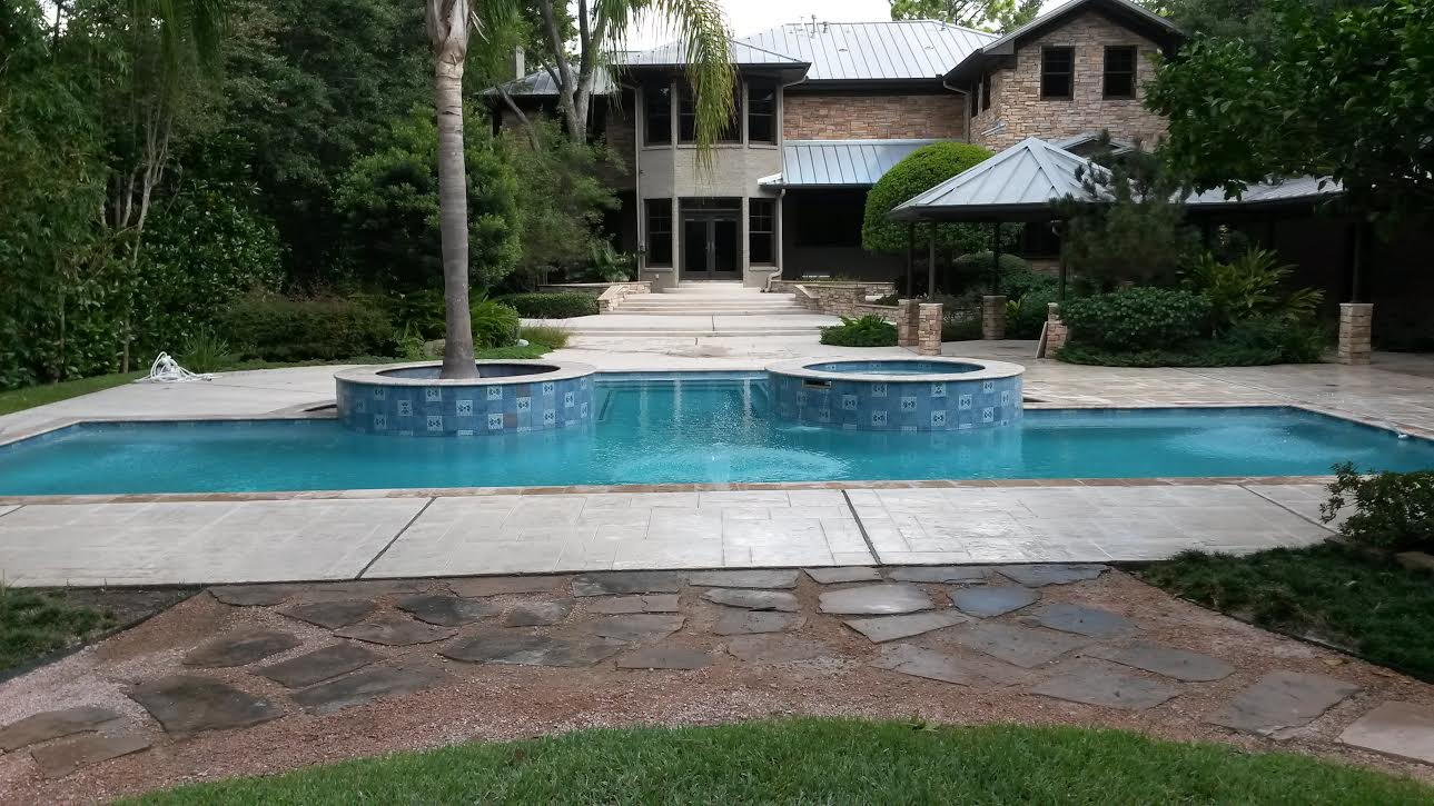 Aesthetic pool patio renovations in houston tx 77041 for Swimming pool supplies houston