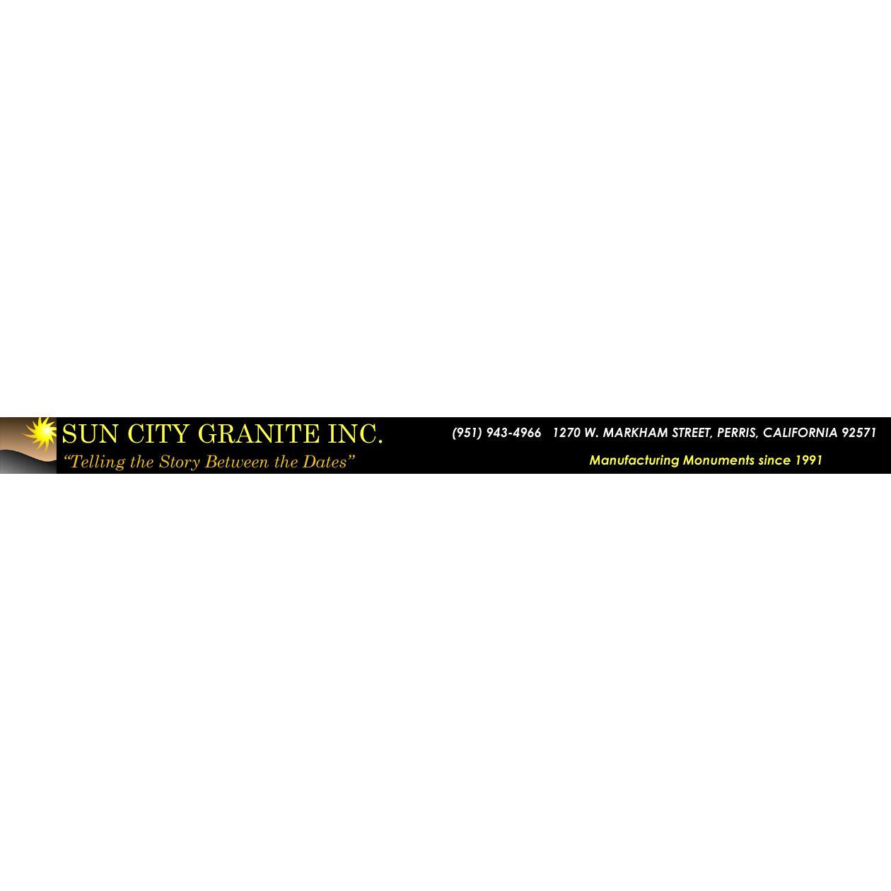 Sun City Granite Inc Headstones and Grave Markers