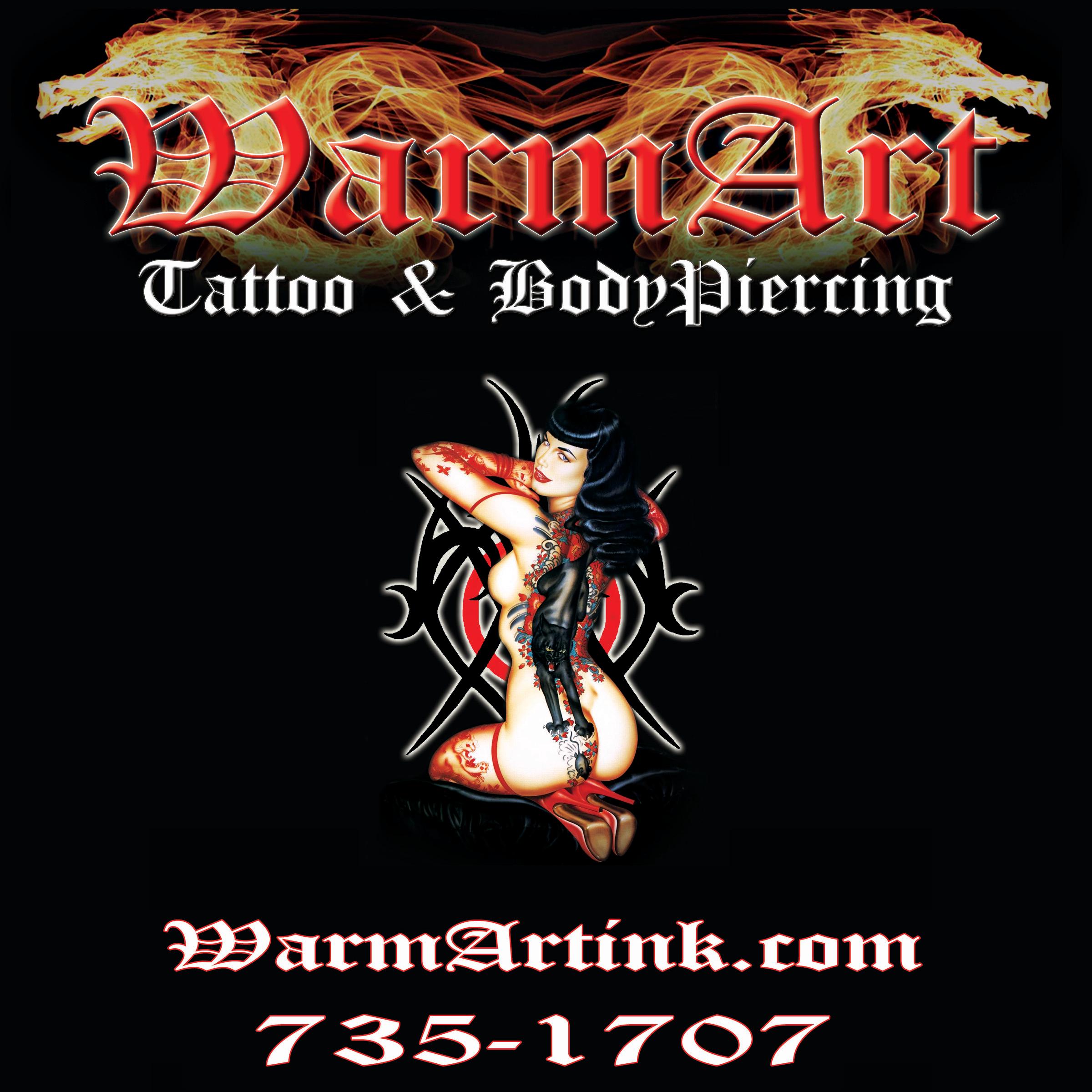 warm art tattoo body piercing in twin falls id 208 735 1707