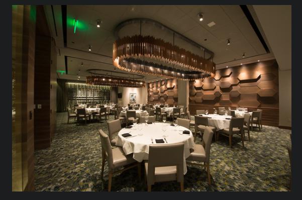 Del Frisco's Double Eagle Steakhouse Boston Boylston Room private dining room