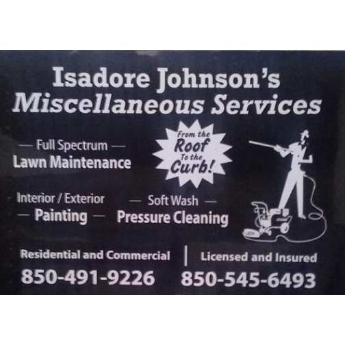 Isadore Johnson Miscellaneous Services