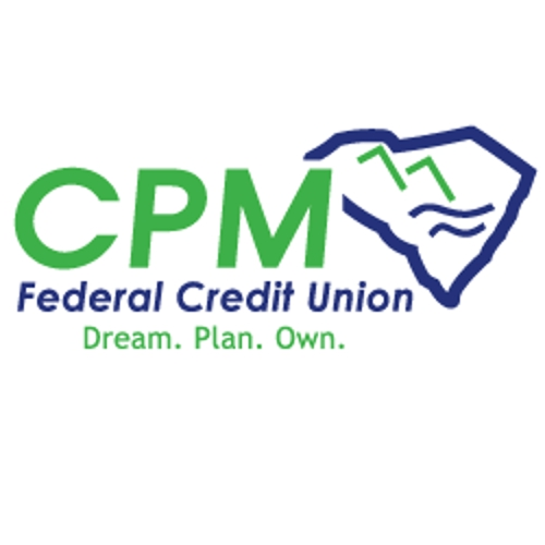 Credit Union in SC Simpsonville 29680 CPM Federal Credit Union -  Simpsonville 307 Harrison Bridge Rd.  (800)255-1513