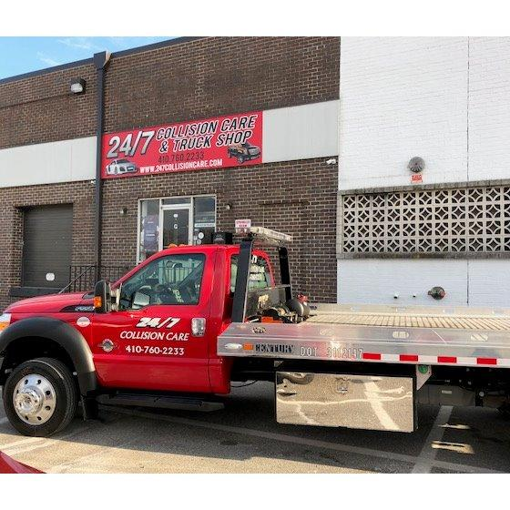 24/7 TOWING & COLLISION CARE - GLEN BURNIE, MD - Auto Towing & Wrecking