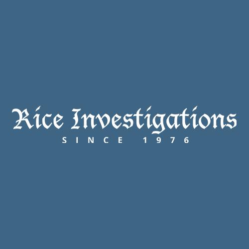 Rice Investigations