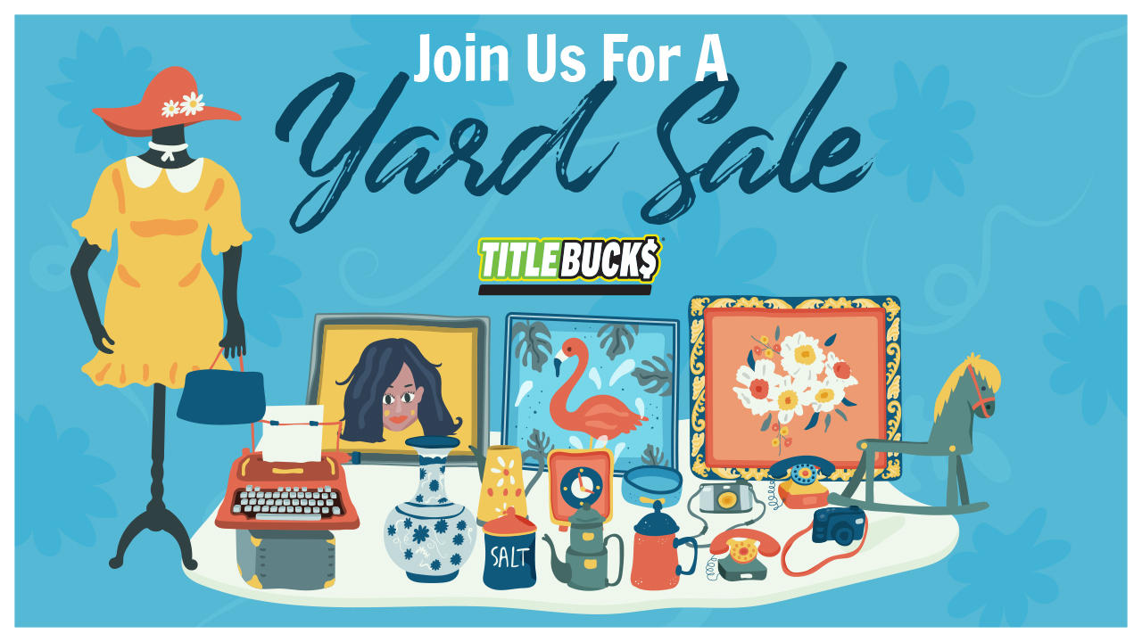 Community Yard Sale at TitleBucks Dalton, GA