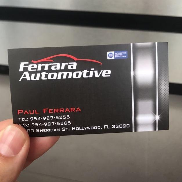 Ferrara Automotive Service