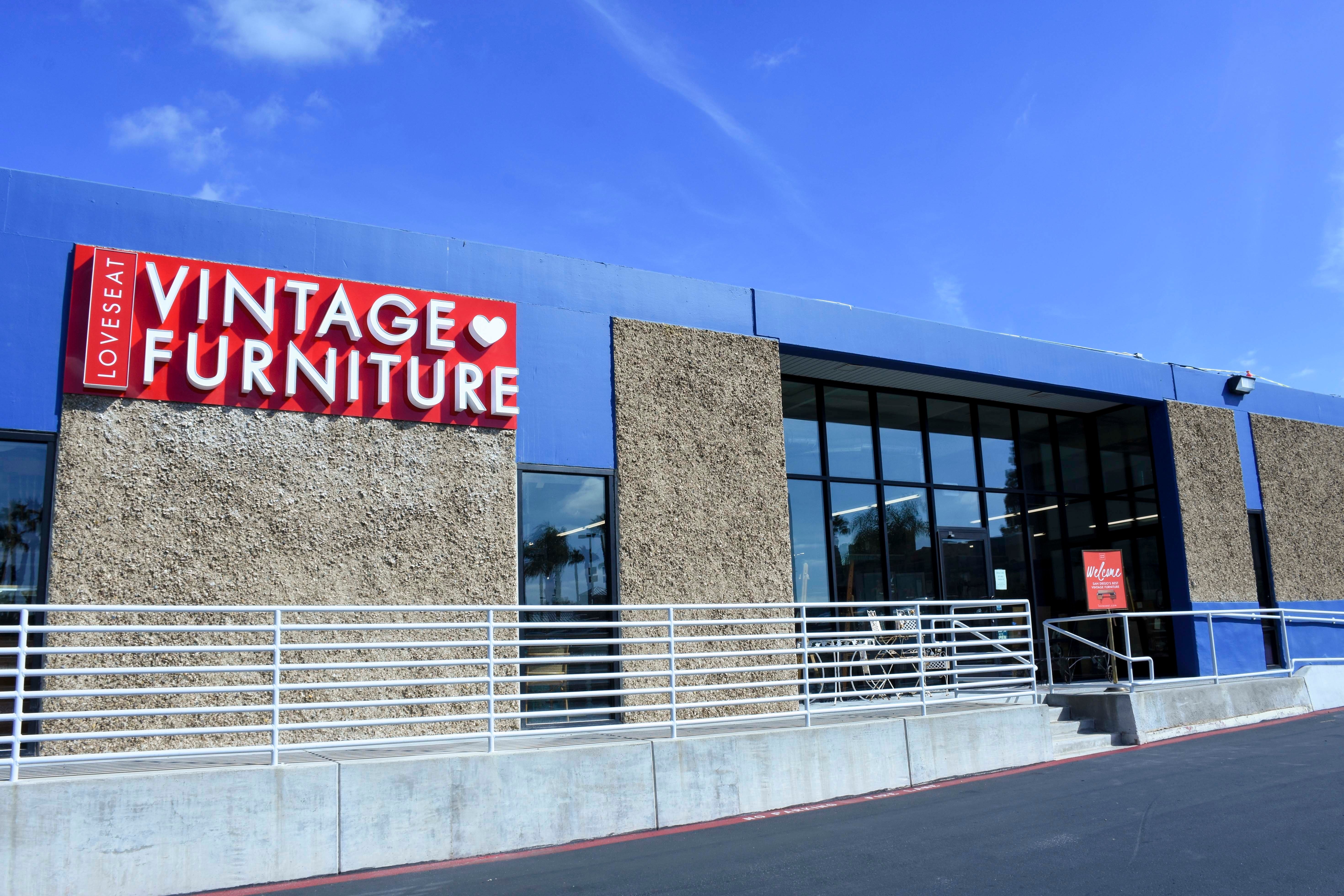 Loveseat Vintage Furniture San Diego San Diego California Ca