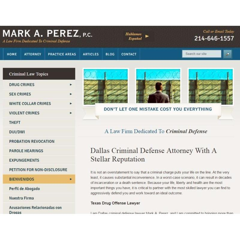 photo of Mark A. Perez, P.C.