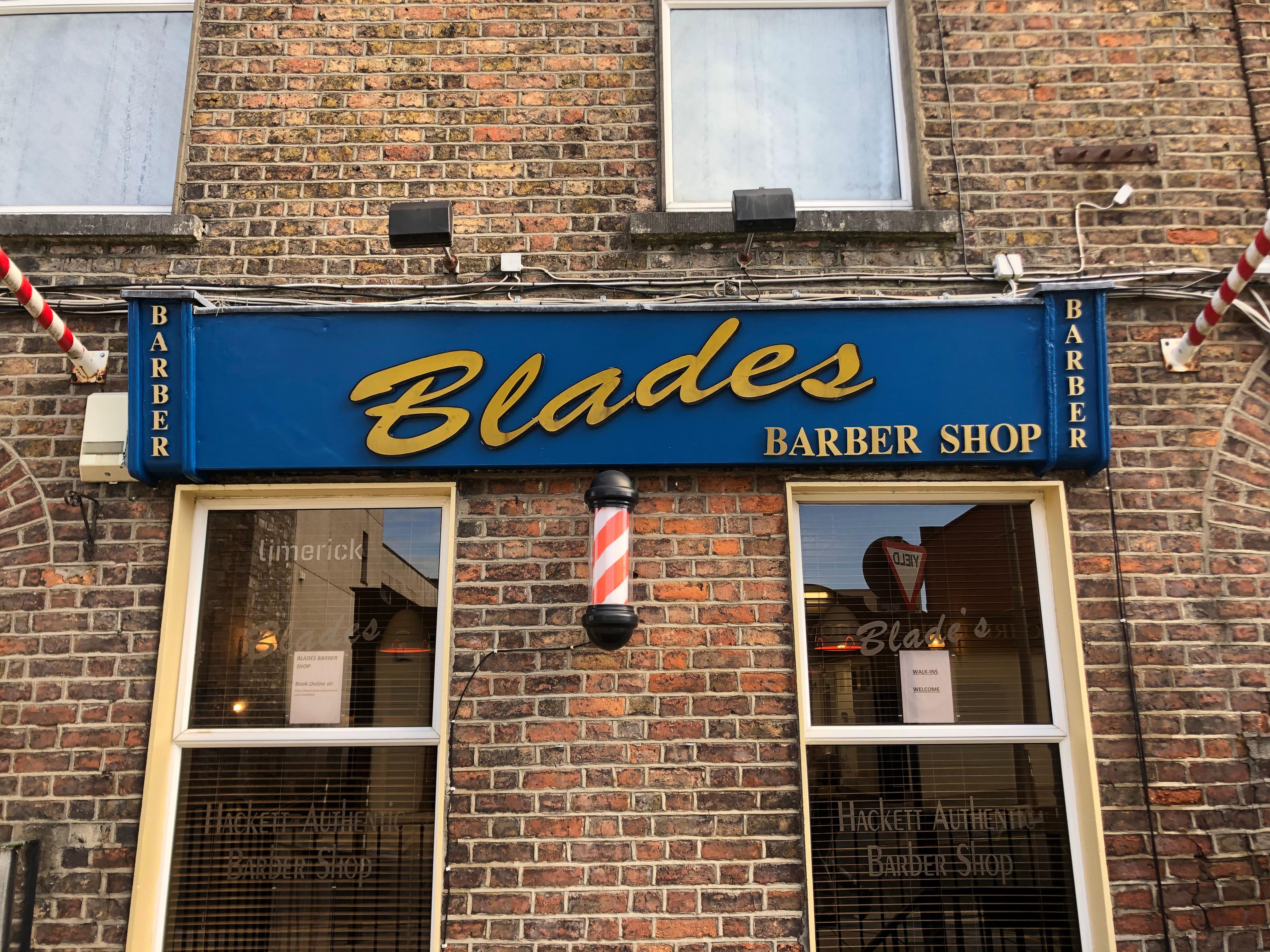 Blades Barbershop 3