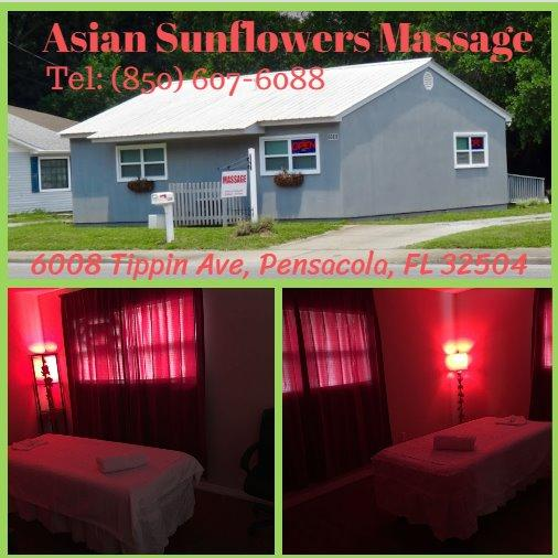 Asian Sunflowers Massage