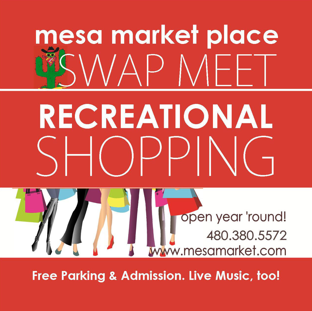 swap meet chino hours of service