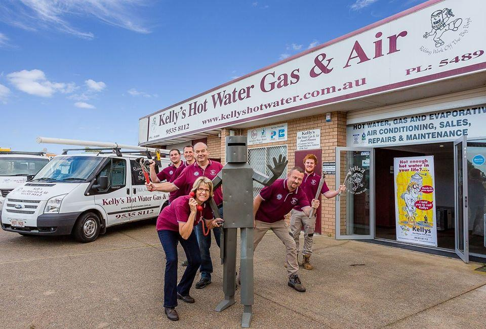 The Team  have commitment to exceeding customer expectations Kelly's Hot Water, Gas & Air Mandurah (08) 9535 8112