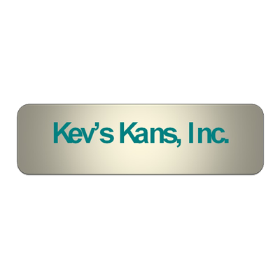 Kev's Kans Inc.