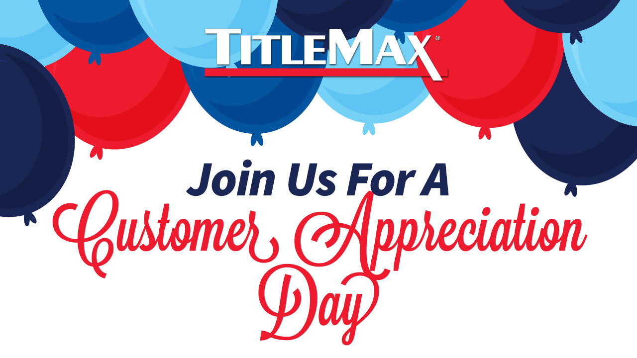 Community Appreciation Day at TitleMax Charleston, SC 1