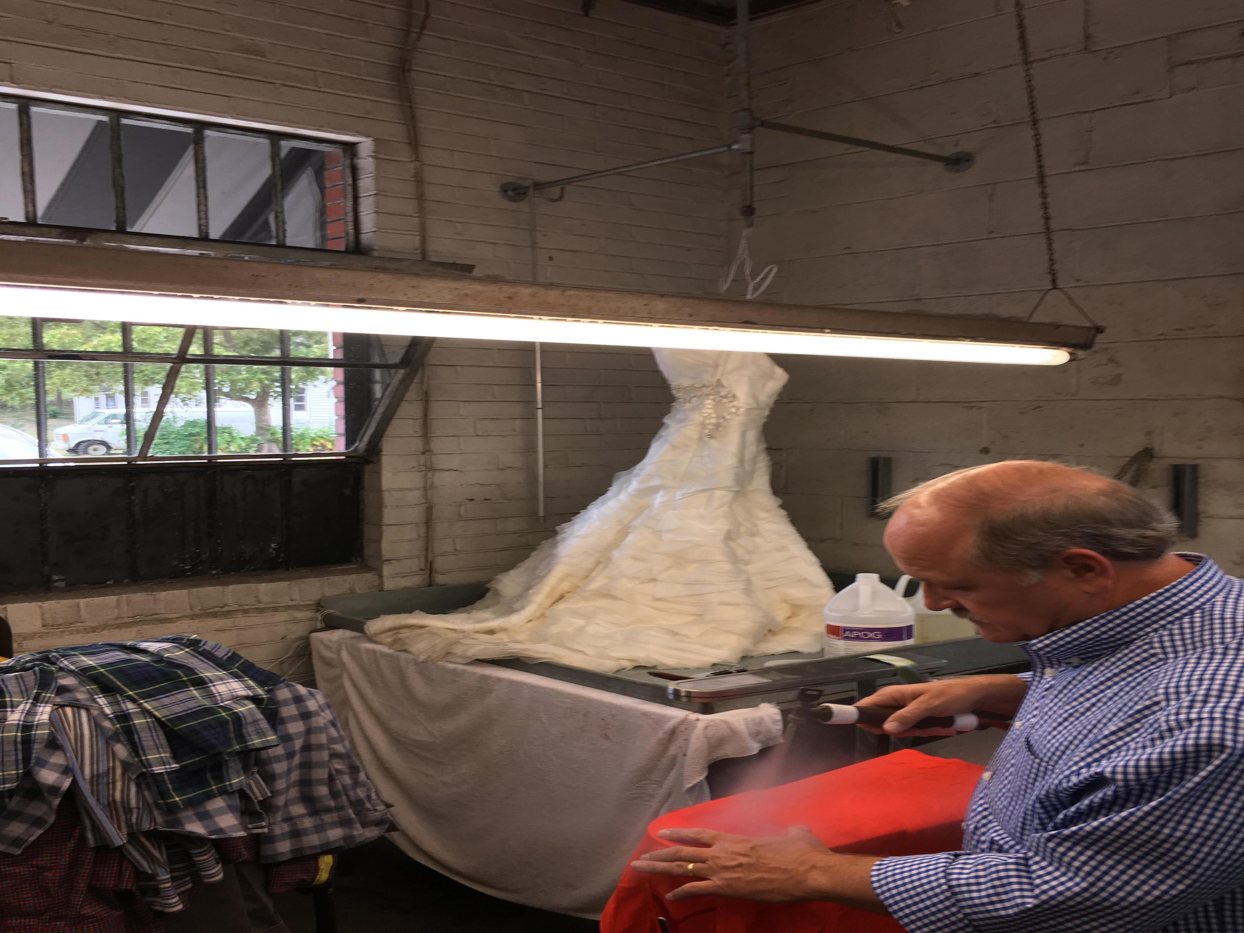 Vogue cleaners birmingham alabama al for Wedding dress dry cleaning near me