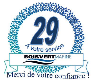 Boisvert Marine à Sorel-Tracy: 29 years at your service  Thank you !