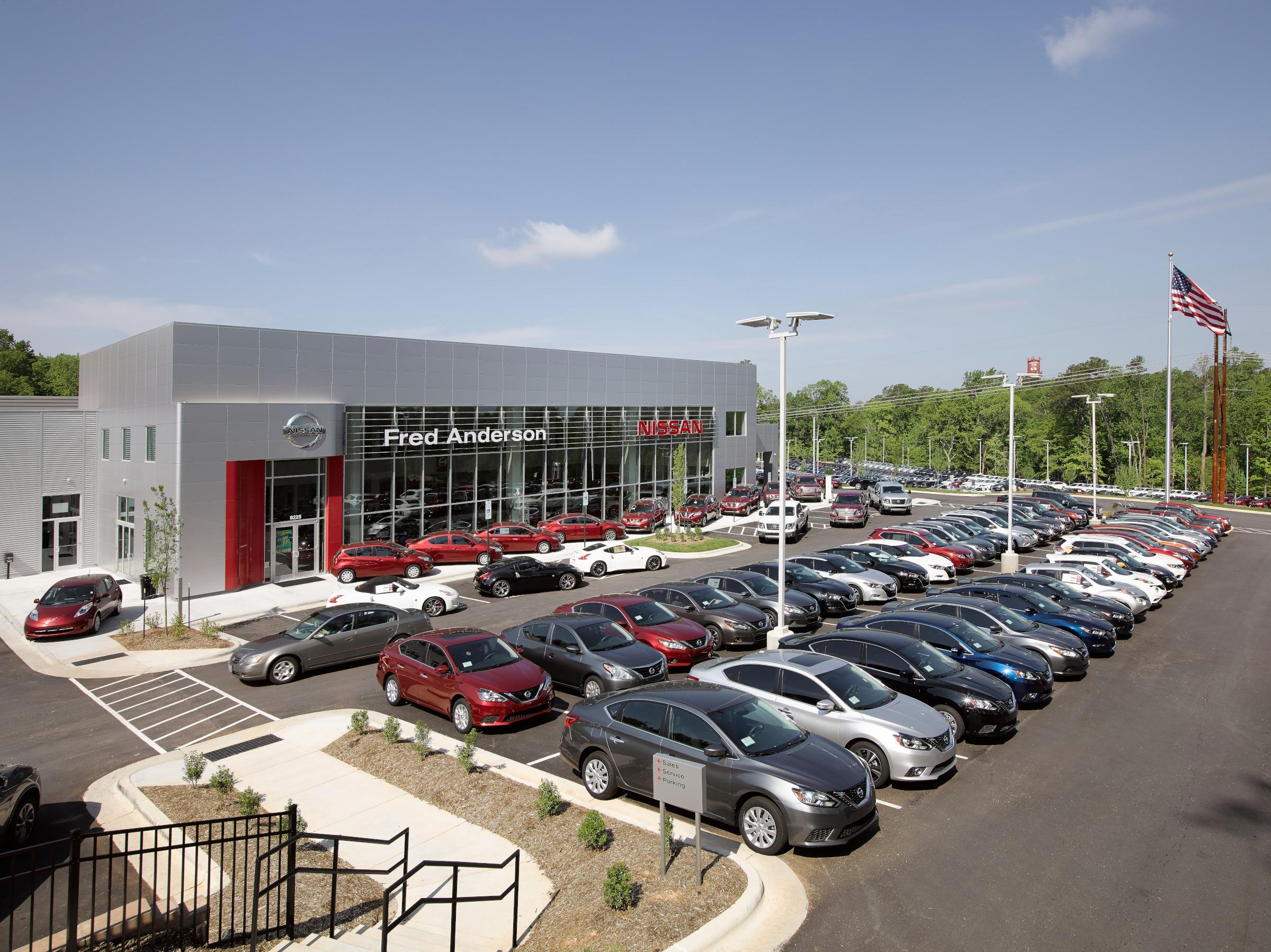 Fred anderson nissan of raleigh raleigh north carolina for Westgate motors raleigh nc