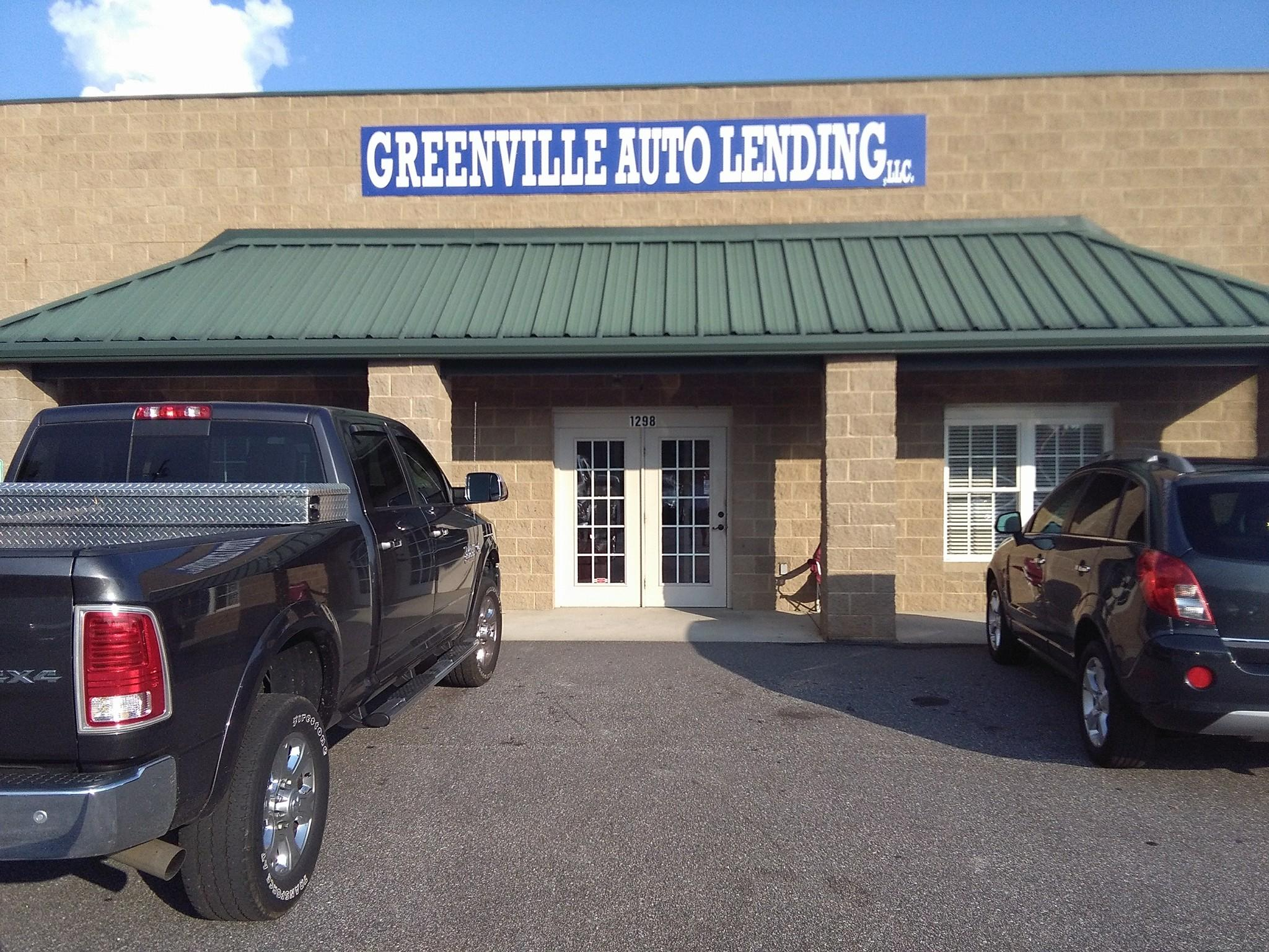 Greenville Auto Lending Piedmont South Carolina Sc