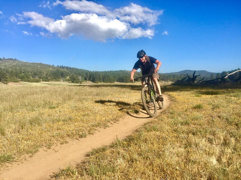 Mountain Biking East San Diego Mountains