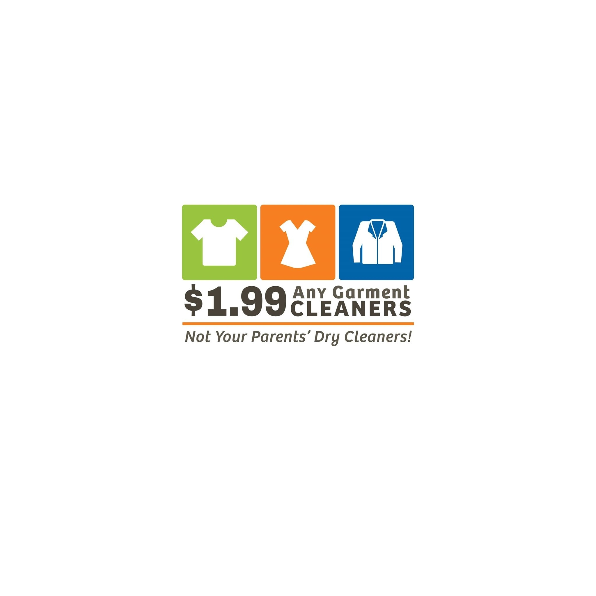 $1.99 Any Garment Cleaners