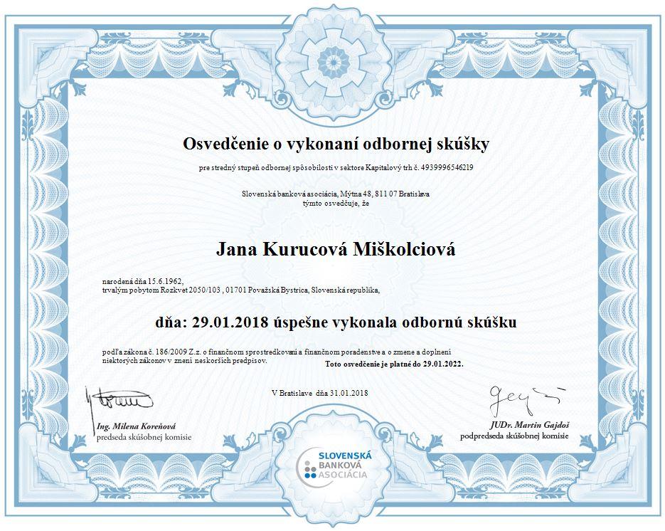 Jana Kurucová Miškolciová