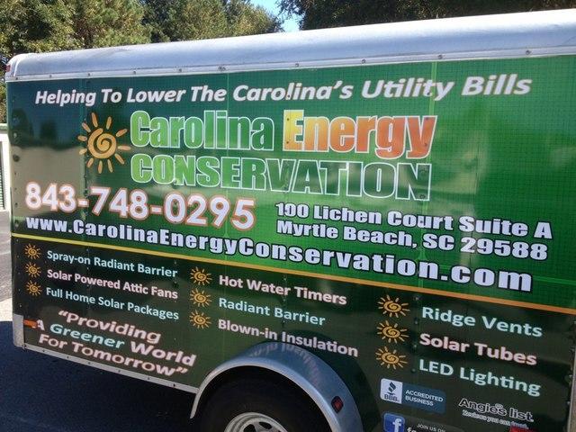 Carolina Energy Conservation Bluffton South Carolina Sc