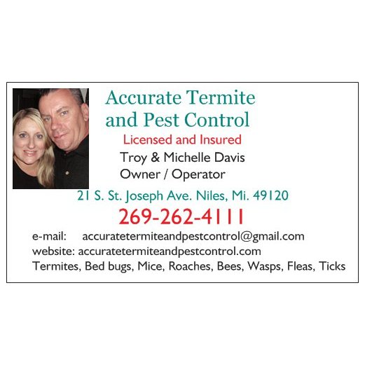 Accurate Termite And Pest Control