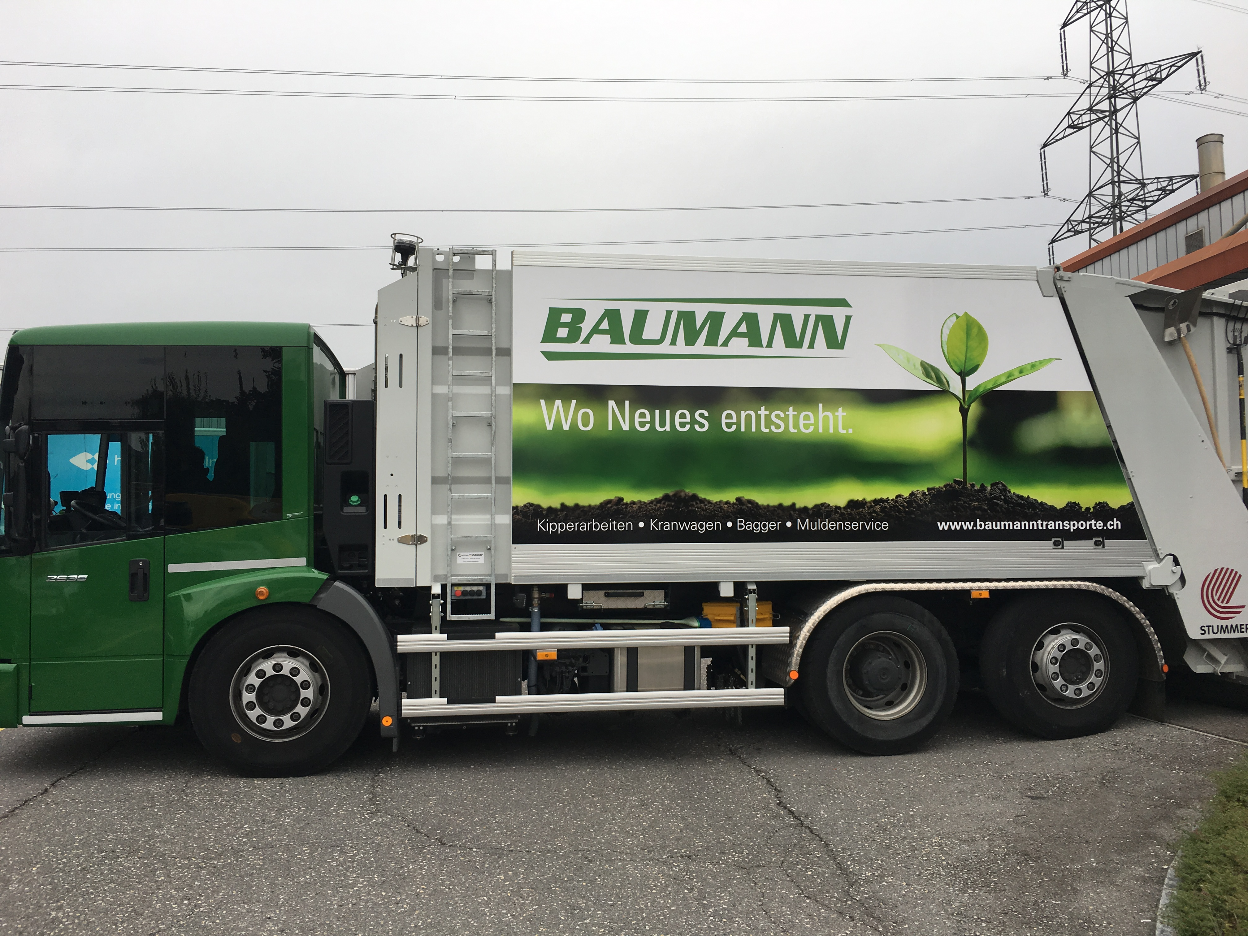 Baumann Transporte + Erdarbeiten AG