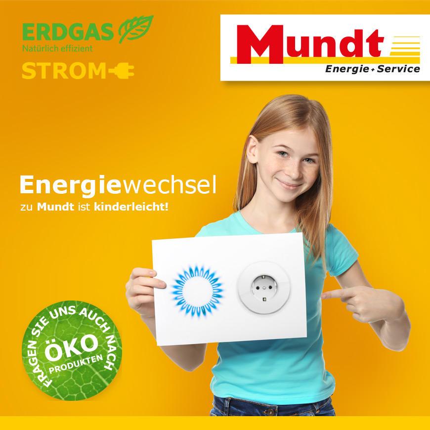 Energiewechsel zu Mundt ist kinderleicht