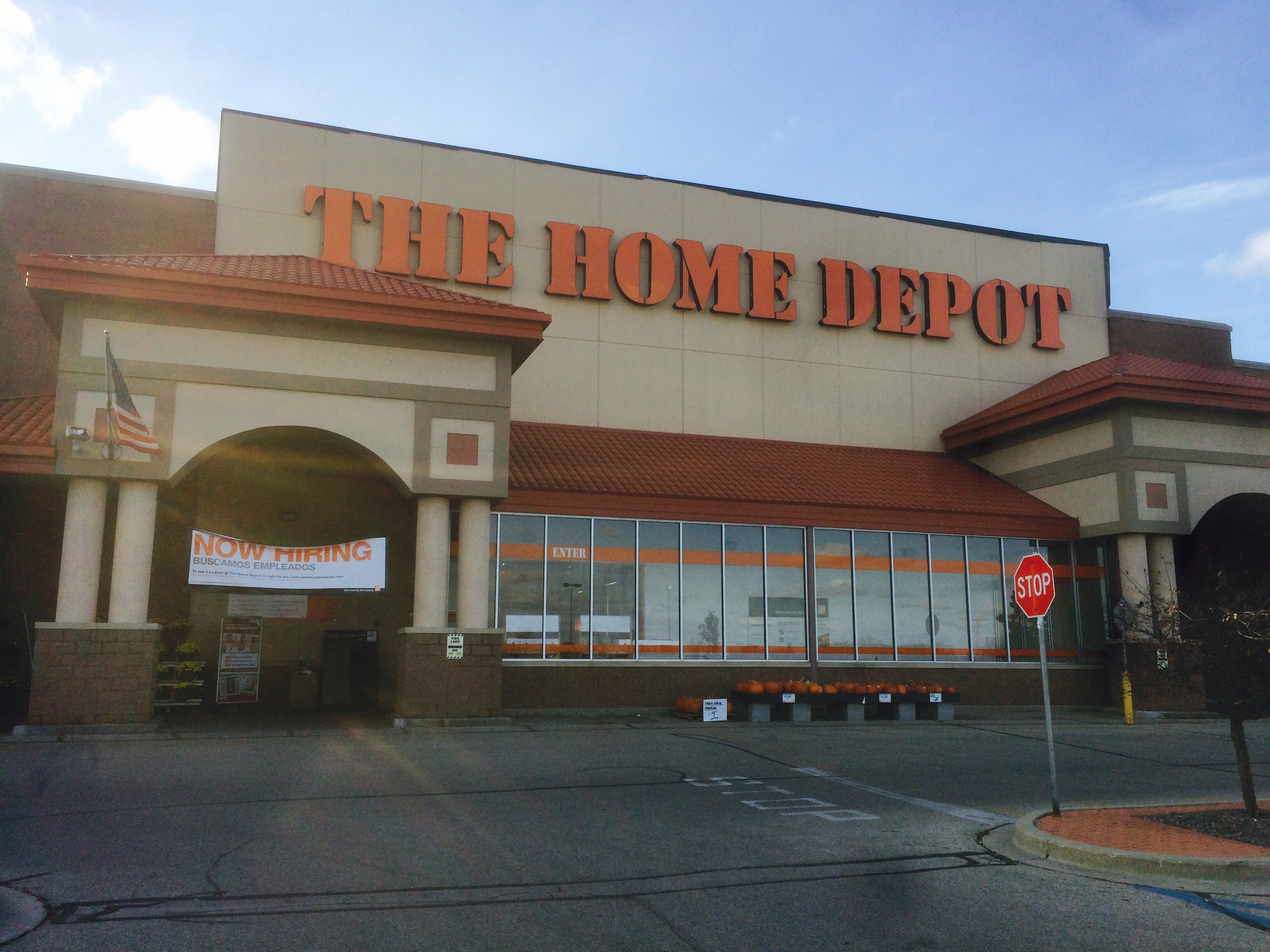home depot wi