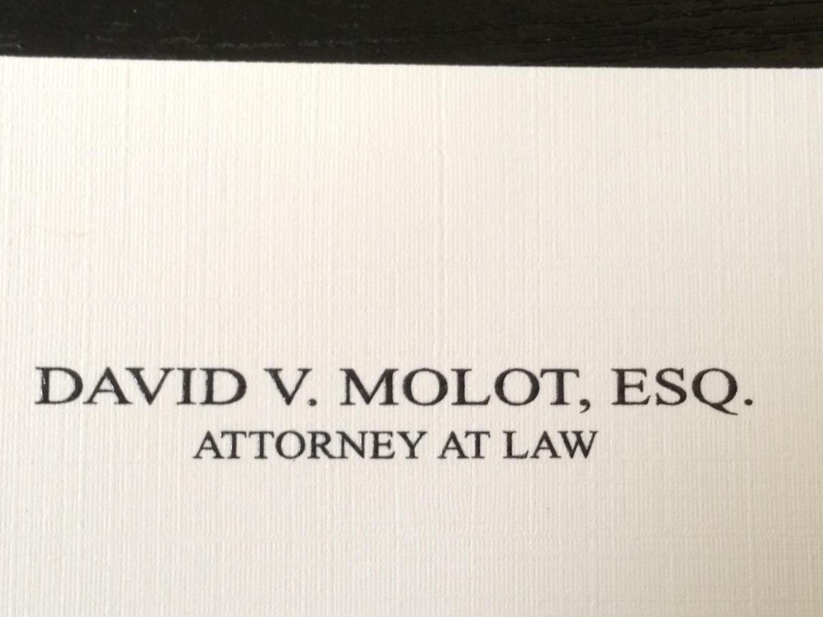 Law Office of David Molot - ad image