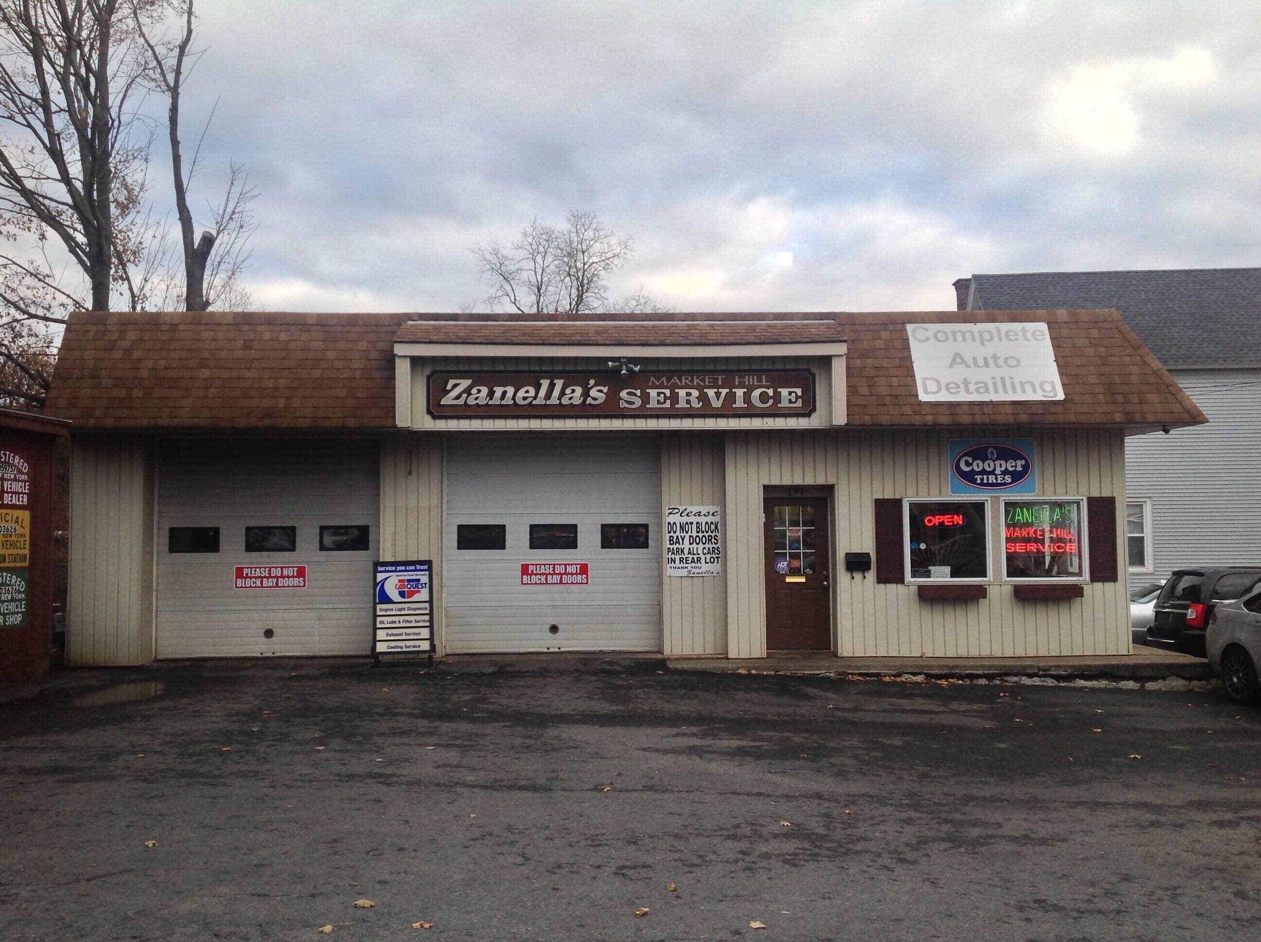 Auto Repair Shop in NY Amsterdam 12010 Zanellas Market Hill Auto Services 191 Market St  (518)843-0245