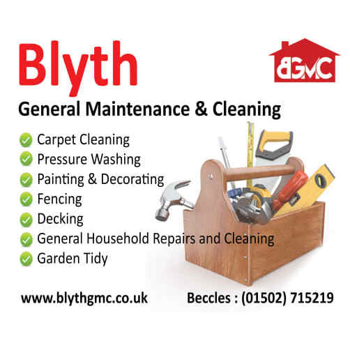 Blyth General Maintenance & Cleaning - Beccles, Essex NR34 8HA - 07917 005950 | ShowMeLocal.com
