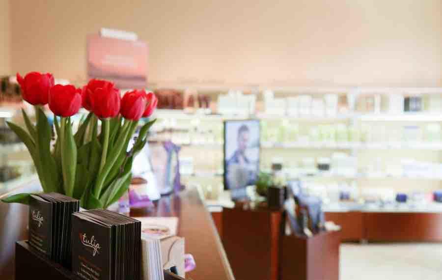Tulip salon spa aveda in fredericksburg va 22407 for 24 hour nail salon new york