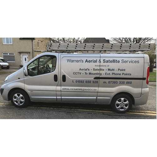 Warrens Aerial & Satellite Services - Kirkcaldy, Fife KY1 3BA - 07977 788880 | ShowMeLocal.com