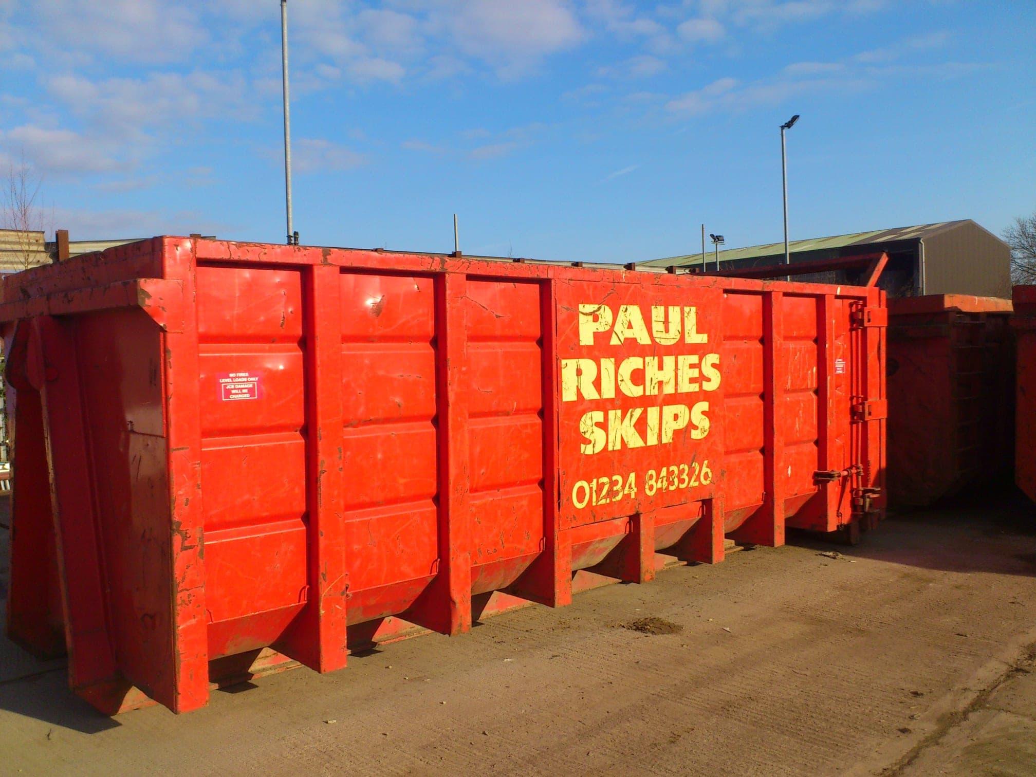 Paul Riches Skips Ltd