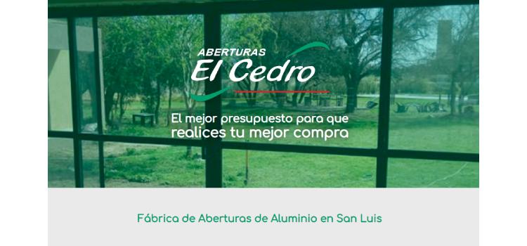 ABERTURAS EL CEDRO