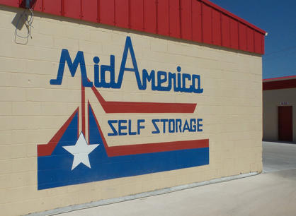 Mid America Self Storage Edmond Oklahoma Ok