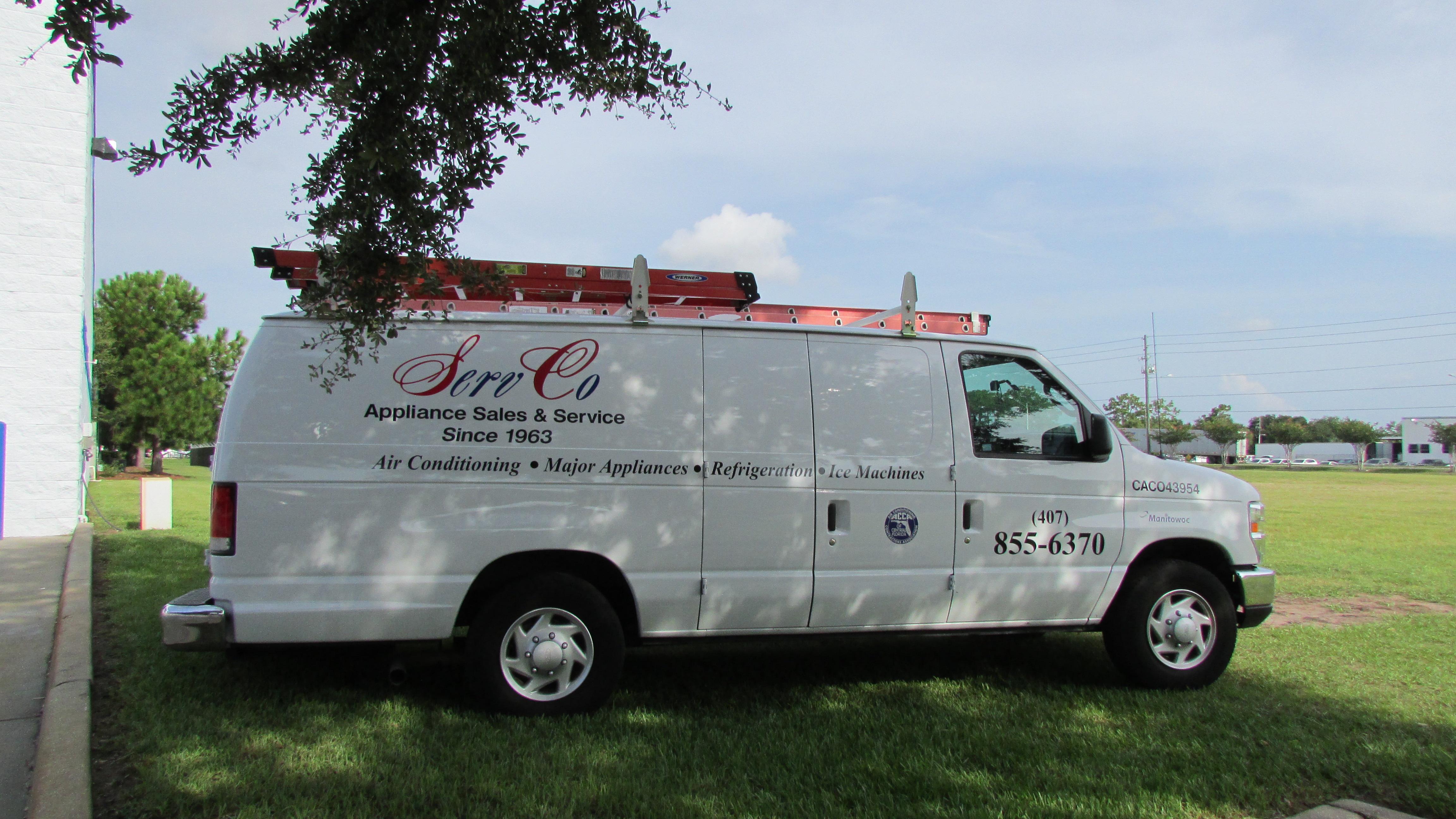 Servco Appliance Sales Amp Service Inc Orlando Florida