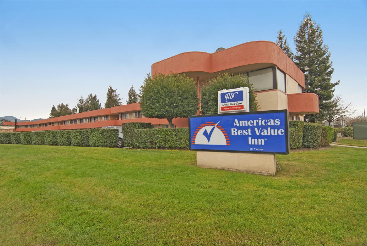 Americas Best Value Inn Santa Rosa In Santa Rosa Ca