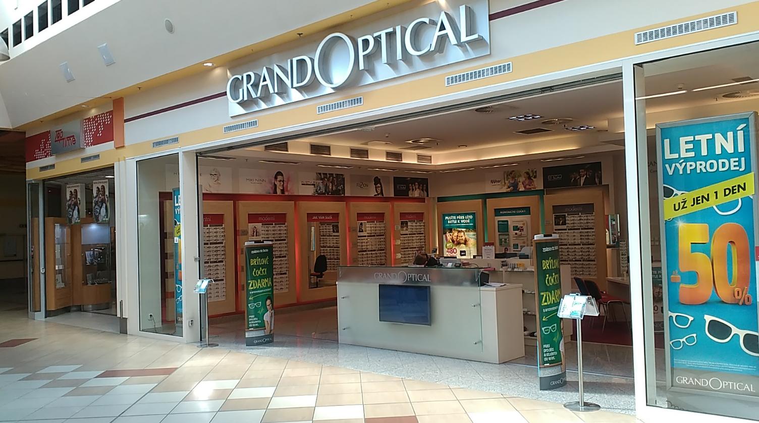 GrandOptical - oční optika NC Královo pole