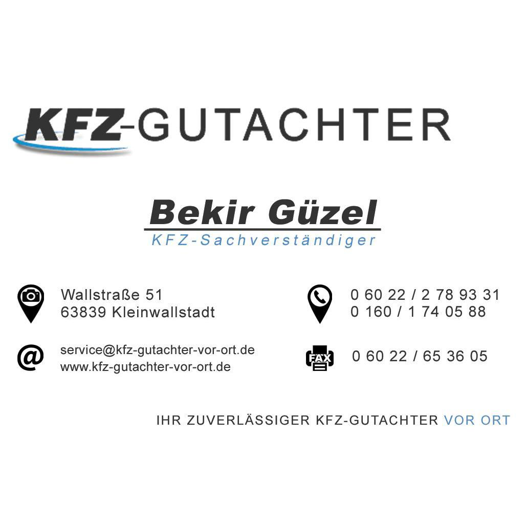 Bild zu Kfz-Sachverständige Güzel Bekir Ihr Gutachter vor Ort in Kleinwallstadt