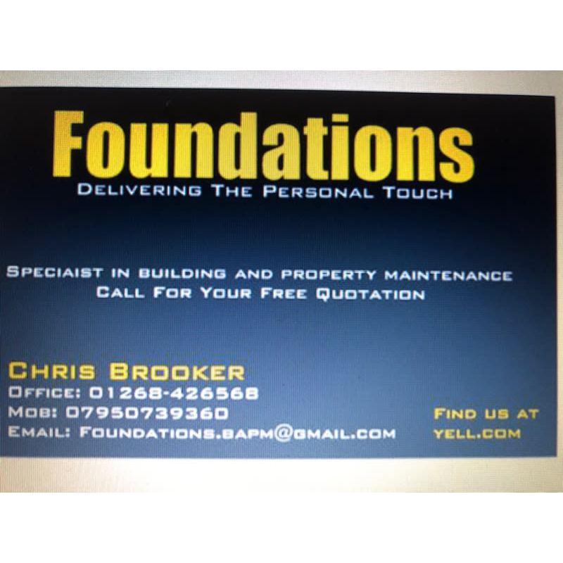 Foundations Building & Property Maintenance - Basildon, Essex SS14 3TF - 07950 739360 | ShowMeLocal.com