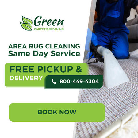 Area Rug Cleaning - Green Carpet's Cleaning