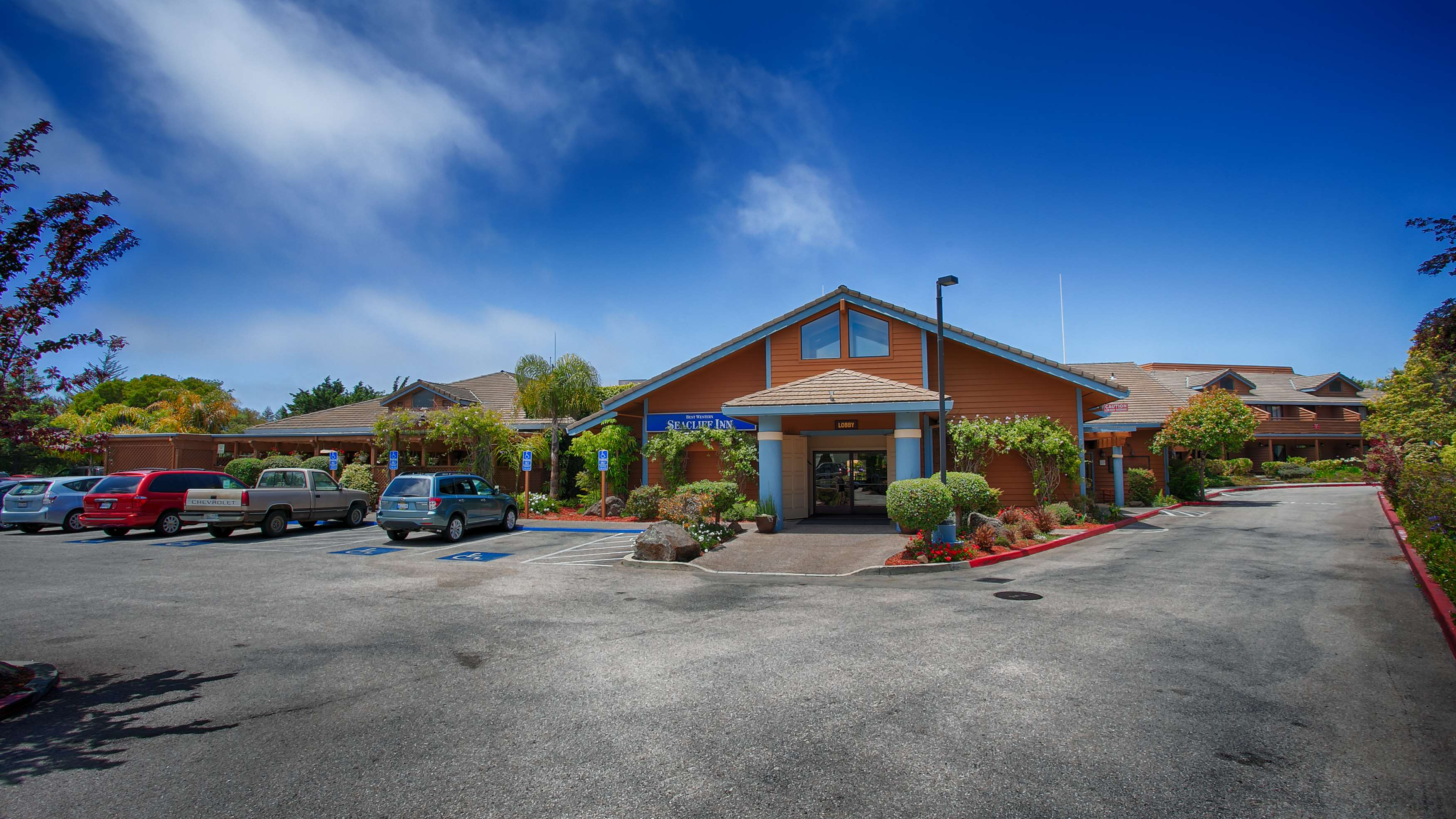 best western seacliff inn aptos california ca