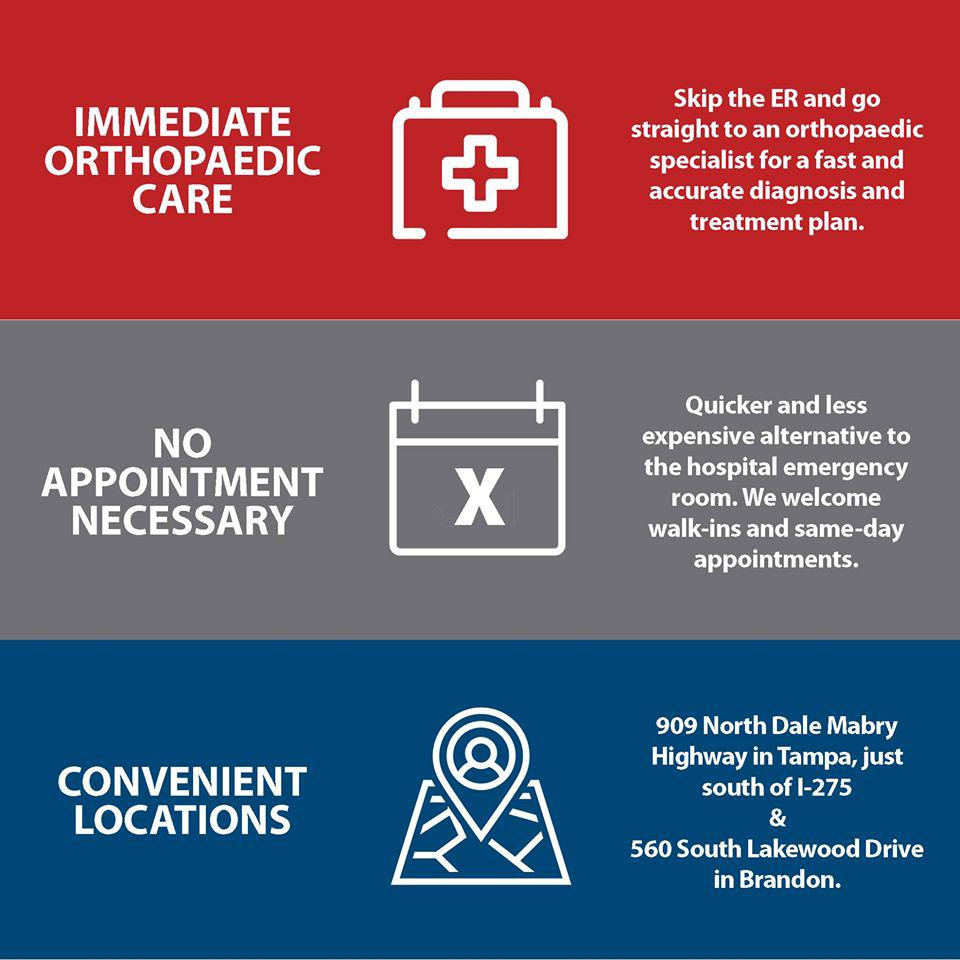 Visit the Urgent Care at our Brandon location