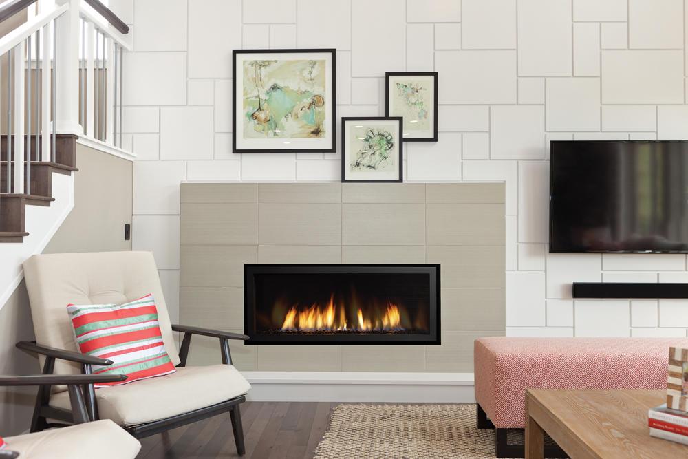 Fireplace Gallery in Edmonton: Regency Horizon HZ40 Contemporary Gas Fireplace
