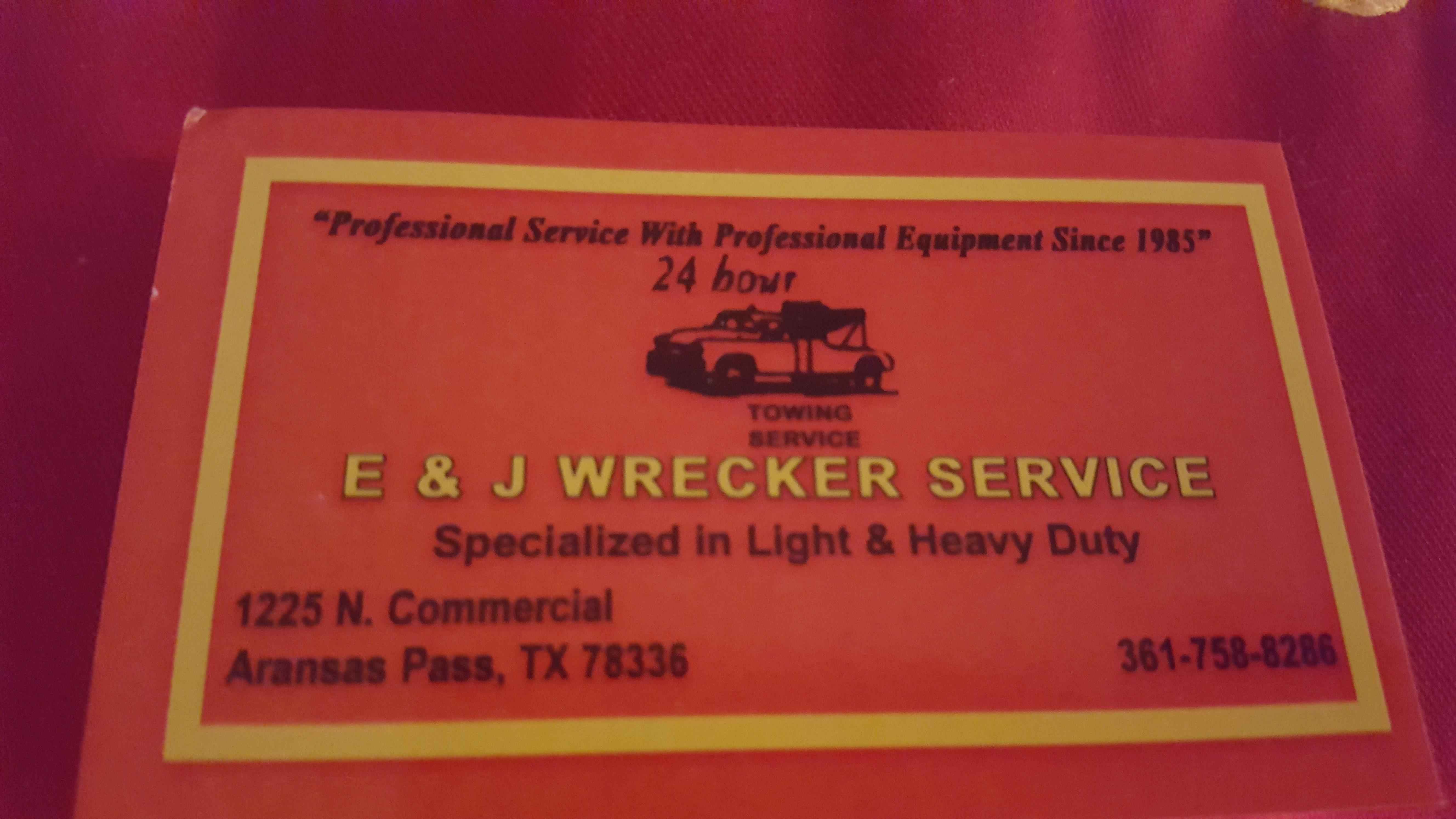 E & J Auto Truck & RV Service